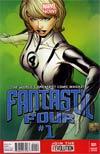 Fantastic Four Vol 4 #1 Incentive Joe Quesada Variant Cover