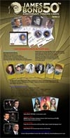 James Bond 50th Anniversary Series 2 Trading Cards Pack