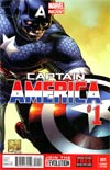 Captain America Vol 7 #1 Cover G Incentive Joe Quesada Variant Cover