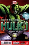 Indestructible Hulk #1 Incentive Joe Quesada Variant Cover