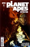 Planet Of The Apes Cataclysm #1 2nd Ptg
