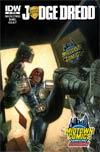 Judge Dredd Vol 4 #1 Midtown Exclusive Variant Cover