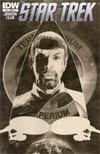 Star Trek (IDW) #15 Incentive Tim Bradstreet Sketch Cover