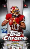 Topps 2012 Chrome Football Trading Cards Pack