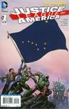Justice League Of America Vol 3 #1 Variant Alaska Flag Cover