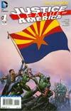 Justice League Of America Vol 3 #1 Variant Arizona Flag Cover