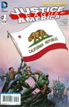 Justice League Of America Vol 3 #1 Variant California Flag Cover