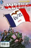 Justice League Of America Vol 3 #1 Variant Iowa Flag Cover