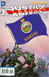 Justice League Of America Vol 3 #1 Variant Kansas Flag Cover