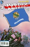 Justice League Of America Vol 3 #1 Variant Oklahoma Flag Cover
