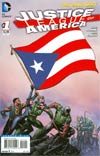 Justice League Of America Vol 3 #1 Variant Puerto Rico Flag Cover