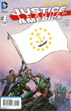 Justice League Of America Vol 3 #1 Variant Rhode Island Flag Cover