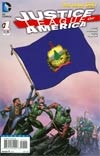 Justice League Of America Vol 3 #1 Variant Vermont Flag Cover