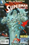 Superman Vol 4 #17 Regular Kenneth Rocafort Cover (Hel On Earth Tie-In)
