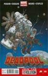 Deadpool Vol 4 #5 1st Ptg Regular Geof Darrow Cover