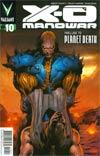 X-O Manowar Vol 3 #10 Cover A 1st Ptg Regular Trevor Hairsine Cover