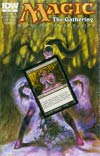 Magic The Gathering Path Of Vengeance #4 Regular Alex Horley Cover
