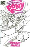 My Little Pony Micro-Series #1 Twilight Sparkle Variant Thom Zahler Subscription Cover