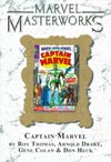 Marvel Masterworks Captain Marvel Vol 1 TP Direct Market Edition