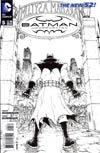 Batman Incorporated Vol 2  #5 Cover B Incentive Chris Burnham Sketch Cover