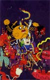 Adventure Time #10 Cover C Incentive Nick Edwards Virgin Variant Cover
