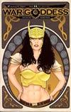 War Goddess #11 Incentive Art Nouveau Variant Cover