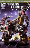 Transformers Prime Rage Of The Dinobots #1 Incentive Nick Roche Inter-Connected Variant Cover