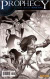 Prophecy #5 Incentive Paul Renaud Black & White Cover