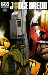 Judge Dredd Vol 4 #1 1st Ptg Regular Cover A Zach Howard