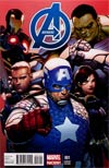 Avengers Vol 5 #1 Cover G Incentive Steve McNiven Variant Cover