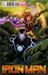 Iron Man Vol 5 #3 Incentive Greg Land Variant Cover