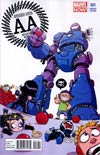 Avengers Arena #1 Variant Skottie Young Baby Cover