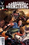 Archer & Armstrong Vol 2 #5 Incentive Interlocking Archer & Armstrong Variant Cover