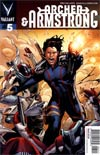 Archer & Armstrong Vol 2 #5 Incentive Interlocking Eternal Warrior Variant Cover