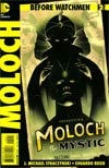Before Watchmen Moloch #2 Incentive Olly Moss Variant Cover