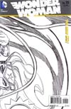 Wonder Woman Vol 4 #15 Incentive Cliff Chiang Sketch Cover