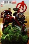 Avengers Vol 5 #2 Incentive John Romita Jr Variant Cover