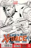 Cable And X-Force #1 Incentive Joe Quesada Sketch Cover