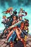 Ame-Comi Girls Vol 2 #1 Regular Eduardo Francisco Cover