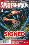 Superior Spider-Man #1 DF Signed By Stan Lee