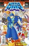 Mega Man Vol 2 #24 Regular Patrick Spaz Spaziante Cover (Worlds Collide Part 1)