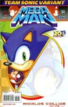 Mega Man Vol 2 #24 Variant Team Sonic Cover (Worlds Collide Part 1)
