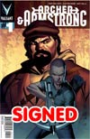 Archer & Armstrong Vol 2 #1 Variant Clayton Henry Pullbox Cover Signed By Fred Van Lente