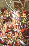 Grimm Fairy Tales Presents Wonderland Vol 2 #6 Zenescope Exclusive E-Bas Holiday Variant Cover