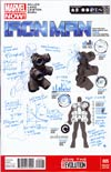 Iron Man Vol 5 #5 Incentive Carlo Pagulayan Design Variant Cover