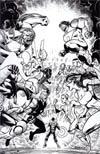 Hypernaturals #7 Incentive Tom Derenick Virgin Sketch Cover
