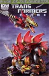Transformers Prime Rage Of The Dinobots #2 Incentive Nick Roche Interconnected Variant Cover
