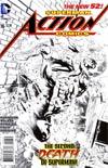 Action Comics Vol 2 #16 Incentive Rags Morales Sketch Cover