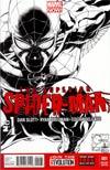 Superior Spider-Man #1 Incentive Joe Quesada Sketch Cover