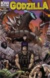 Godzilla Vol 2 #8 Cover B Incentive Matt Frank Variant Cover